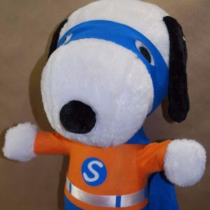 Snoopy Superhero Halloween Porch Greeter