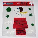 Snoopy Flying Ace Jelz Window Cling