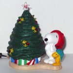 Snoopy and Woodstock with Christmas Tree Ornament