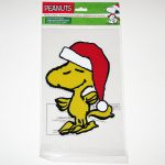 Woodstock Santa Gel Cling