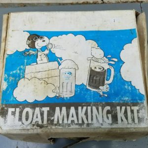 Snoopy A&W Root Beer Float Kit