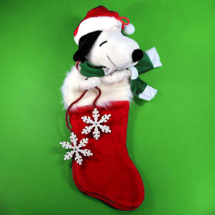 10% Off Peanuts Christmas Stockings