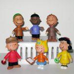 Peanuts Set of 6 Ornament Figures