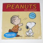 Snoopy & Linus Mini Wall Calendar - 2014