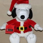Snoopy Santa Plush from Hallmark