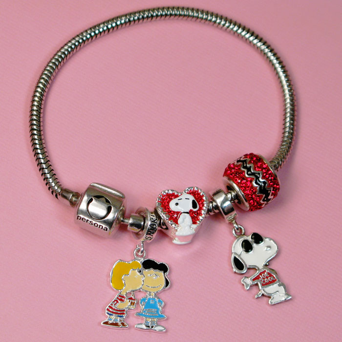 persona bracelet charms peanuts by persona charms and review 9917
