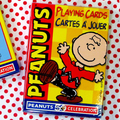 Charlie Brown Playing Cards