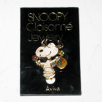 Snoopy dancing with basket of flowers Pin