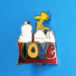 Snoopy and Woodstock 'Love' Pin
