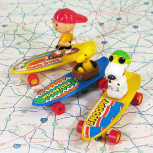Click to view Peanuts Skateboard & Rollerskating Collectibles