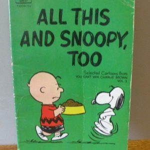 All This and Snoopy, Too Fawcett Crest Book