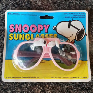 Snoopy sunglasses