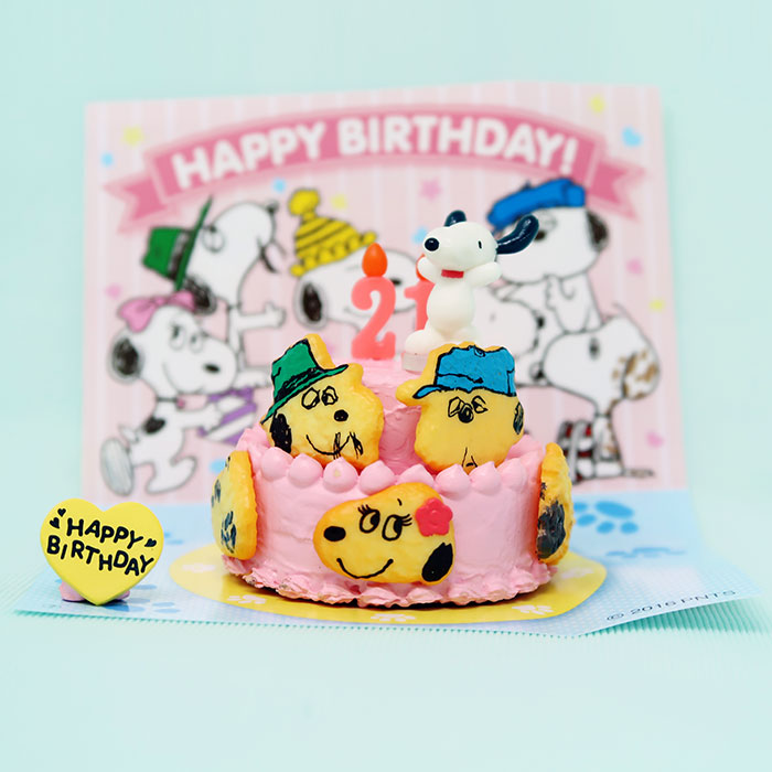 Snoopy & the Daisy Hill Puppies Birthday Cake
