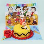 Snoopy & Charlie Brown Birthday Cake