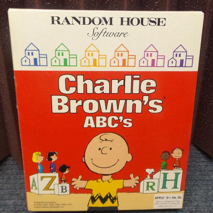 Charlie Brown Random House Software