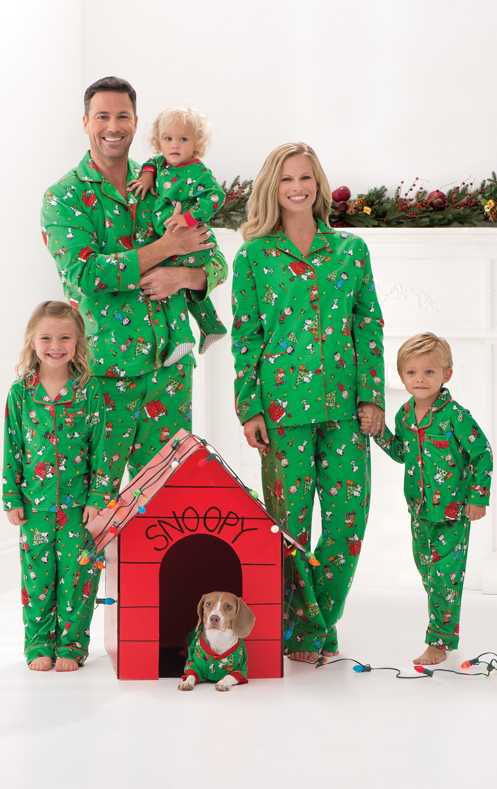 Charlie Brown Christmas Matching Family Pajamas from Pajamagram
