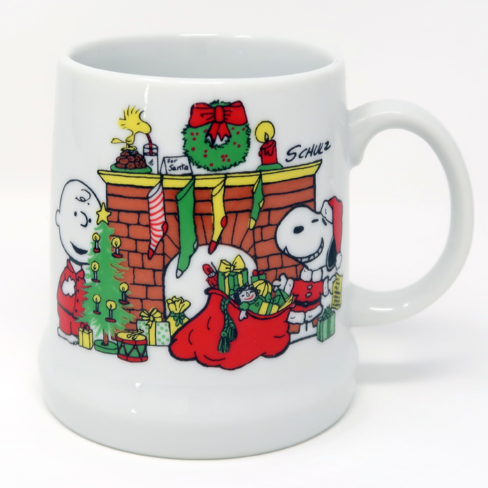 Peanuts 1978 christmas stein for Christmas decorations home goods