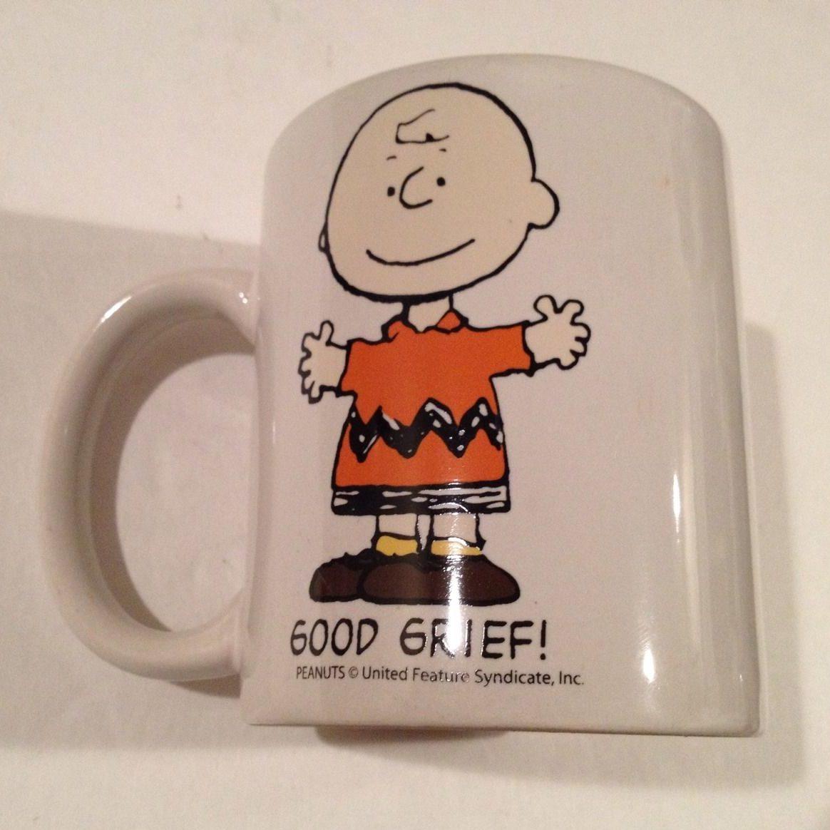 """Good Grief"" Charlie Brown Mug"