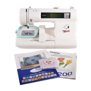 Brother PE200 Snoopy Embroidery Machine