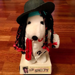 Boy Snoopy Plush Doll