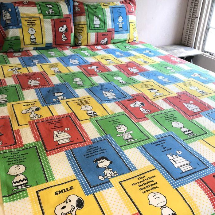 Peanuts Bed Sheets