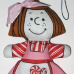 Peppermint Patty Ornament by Determined Productions