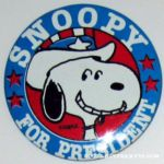 Peanuts Interstate Brands Pin-back Buttons