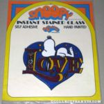 Peanuts Aviva Instant Stained Glass