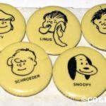 Peanuts Simon Simple Pin-back Button