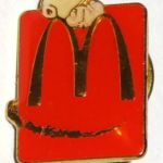 Peanuts McDonald's Employee Pin