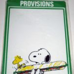 Peanuts Butterfly Originals White-Board