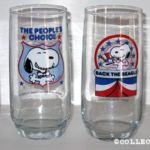 Peanuts Interstate Brands Drinking Glasses