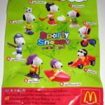 Peanuts McDonald's International Promotional Poster