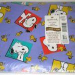 Peanuts Hallmark Gift Wrapping