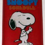 Peanuts Butterfly Originals Mini Schedule Notebook