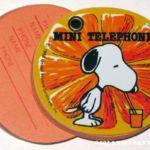 Peanuts Butterfly Originals Mini Address Book