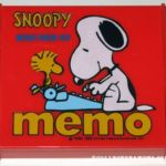 Peanuts Butterfly Originals Memo Pad