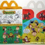 Peanuts McDonald's American Happy Meal Box