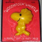 Peanuts Hallmark Whistles