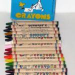 Peanuts Butterfly Originals Crayons