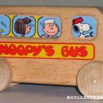 Peanuts Aviva Wooden Car