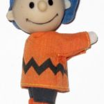 Charlie Brown Doll - Orange Shirt