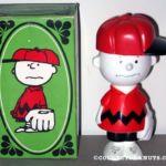 Charlie Brown Avon Bottle - Red Shirt
