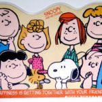 Charlie Brown Placemat - Blue Shirt