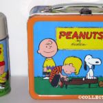 Charlie Brown Lunchbox - Yellow Shirt, Purple Stripe