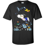 Snoopy and Woodstock Swimming Shirt