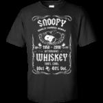Snoopy Whiskey Shirt