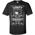 Snoopy Whiskey Shirt