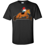 Snoopy Horse Jumping Shirt
