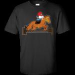 Snoopy Horse Jumping Shirt